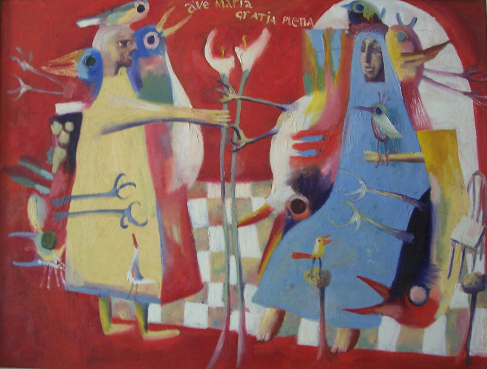 Annunciation, 1998