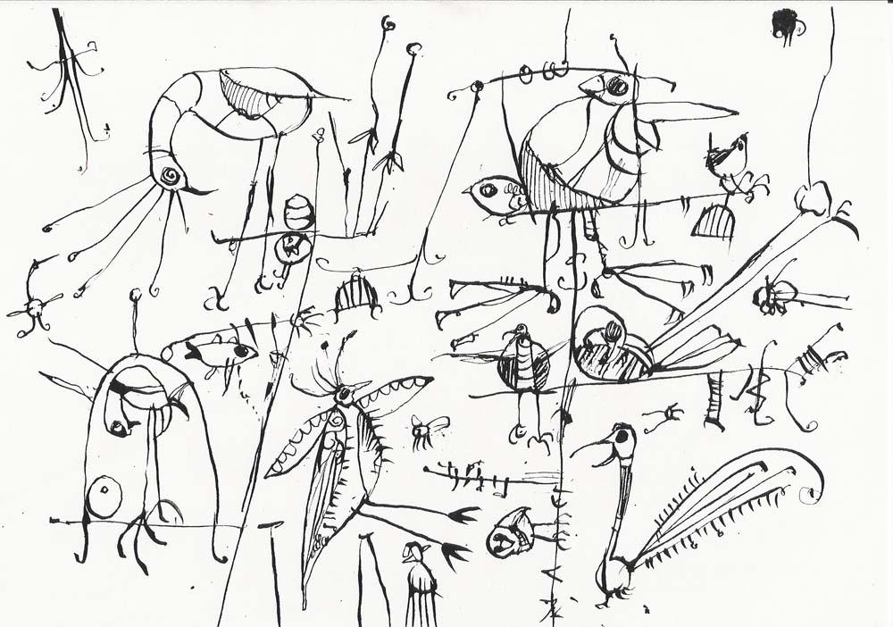 Birds No. 3, 1996