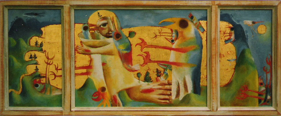 Saint Francis Triptych, 1996