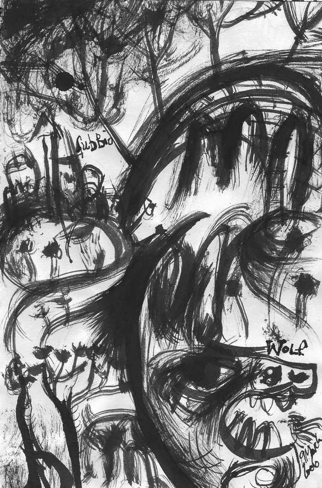The Gubbio Wolf, 2004