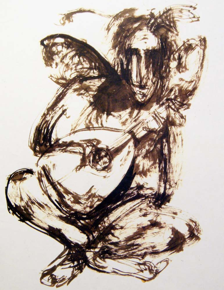 Winged Lutenist, 1994